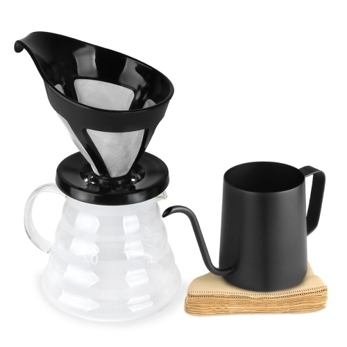 Pour Over Coffee Maker Set Kit