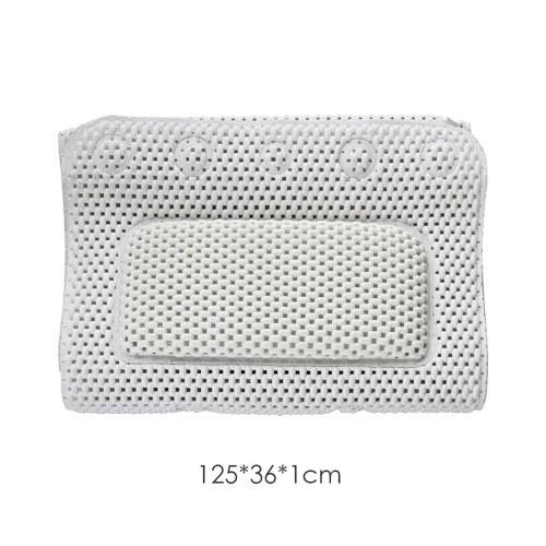 Full Body Bath Pillow Non-Slip Bathtub Mat Luxury Cushion