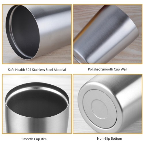 304Stainless Steel Beer Cup (450ml)