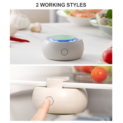 Refrigerator Deodorizer Odor Remover Portable Fridge Freshener Air Purifier