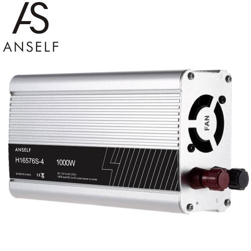 1000W DC12V to AC220-240V AC Household Solar Power Inverter Converter Modified Sine Wave Form