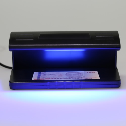 UV Light Money Counterfeit Detector Currency Banknote Detecting Machine Water Mark Detection 220-230V 4W