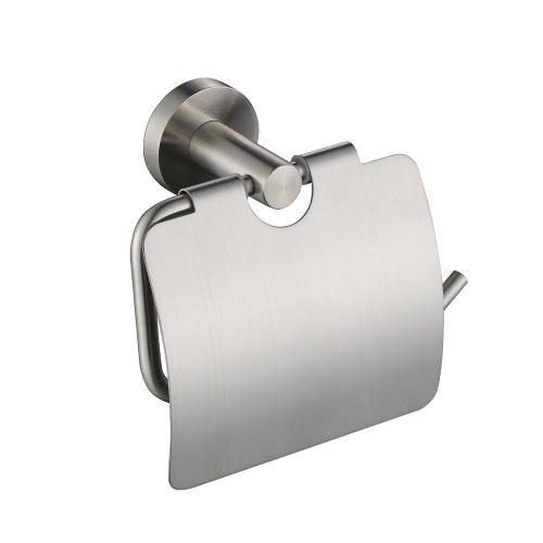 Homgeek Wall Mounted Szczotkowana stal nierdzewna papier toaletowy Papier szufladowy szafka wieszak wieszak do przechowywania łazienek kuchnia Hotel