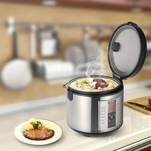 Homgeek 5L High-end Professional 20 Cup Cooked