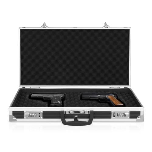 Custodia in alluminio iKayaa con pistola a pistola rigida