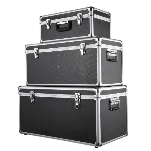 Trois boites de rangement multiusage de différentes tailles