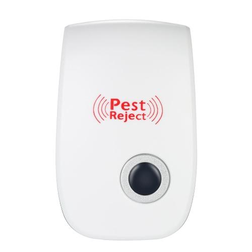 Ultrasónico electrónico del parásito del mosquito no tóxico Hormigas Arañas cucarachas repelente AC90V-250V