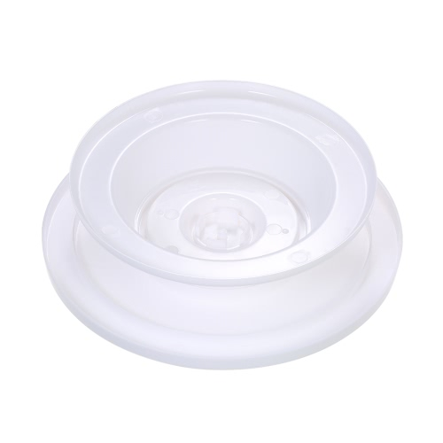 28cm Diameter Plastic Cake DIY Rotating Turntable Fondant Decorating Icing Stand Decoration Baking Tool White