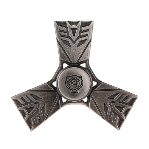 Antique Vintage Style Fidget Toys Anti-Anxiety Spinner 360° Tri Triangle Focusing EDC Focus Toy for Kids Adults Stress Reducer Relieves ADHD Anxiety Desk Portable New Style