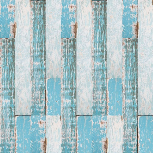 196.8 * 7.8'' Multi-purpose Self-adhesive Wood Grain Floor Contact Paper Covering PVC Waterproof Removable Decorative Wallpaper Stickers