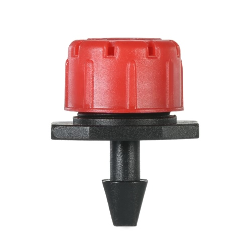 50pcs Einstellbarer Dripper Micro Sprinker Anti-Verschmutzungs-Emitter Dripper System