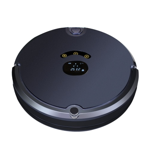 Automatic Intelligent Vacuum Cleaner Robot Smart Floor Sweeping Cleaning Mopping Cleaner Machine with Remote Control Docking Station Space Isolator AC100-240V