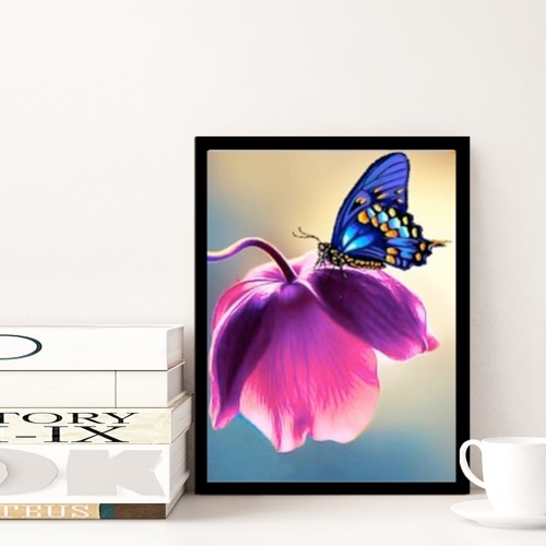 Роскошная алмазная картина бабочки блестящая и оригинальная