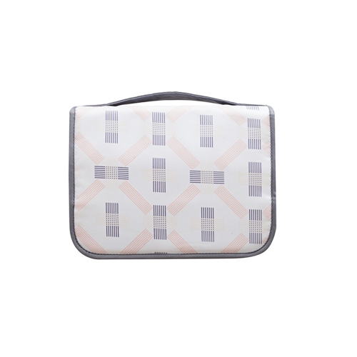 Travel Toiletry Bag Portable Storage Cosmetics Organizer Water-resistant Bag for Travel Business Trip Bathroom Ware Fodable
