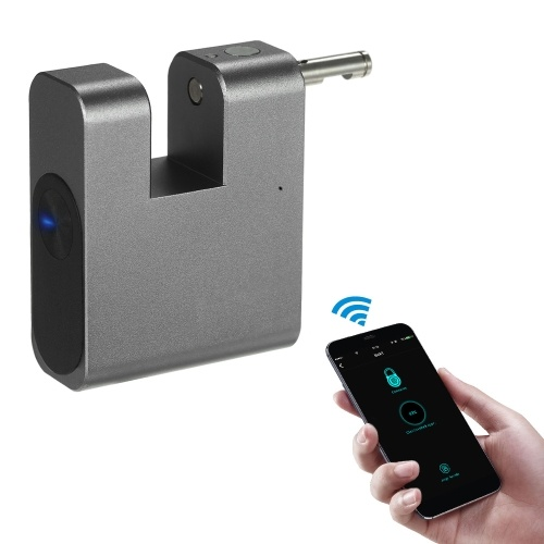 BT Smart Keyless Lock Водонепроницаемый APP Разблокирует Anti-Theft