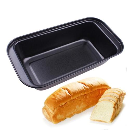 No-Stick Kohlenstoffstahl Toast Pan-Brotform Backformen Rechteckiges Kuchenbrot Laib Pfanne Backform Küche Cupcake Werkzeuge