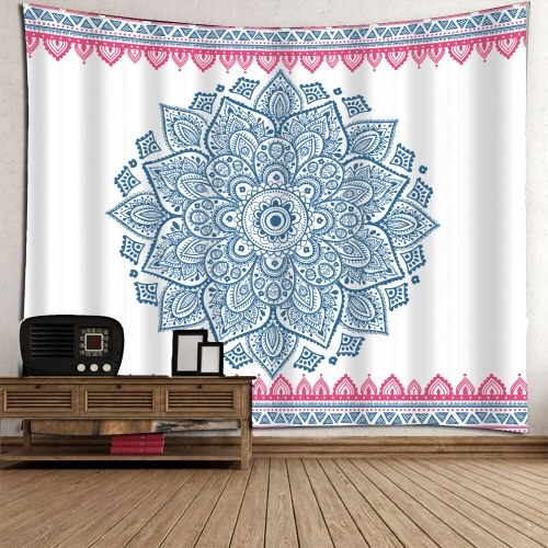 Геометрические абстрактные декоративные висячие стены и одеяло фон ткани Красочный многополярный многоцелевой пляж и йога полотенце