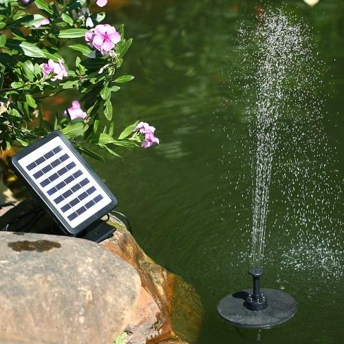 Солнечная энергия плавающий фонтан 7V 1.5W солнечная панель