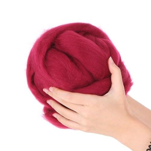 Рукав Вязание Одеяло Толстые DIY Короткий Пряжа Ровинг Вязаный Одеяло