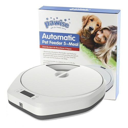 Pawise Automatic Pet Feeder Timing Feeder
