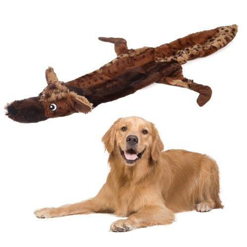 Squeaky Dog Toys Agressivo Chewers Dog Plush Toys para Small Medium Large Dog Pets