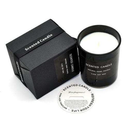 Ароматические свечи Nordic Black Lavender Ароматерапия бездымная свеча