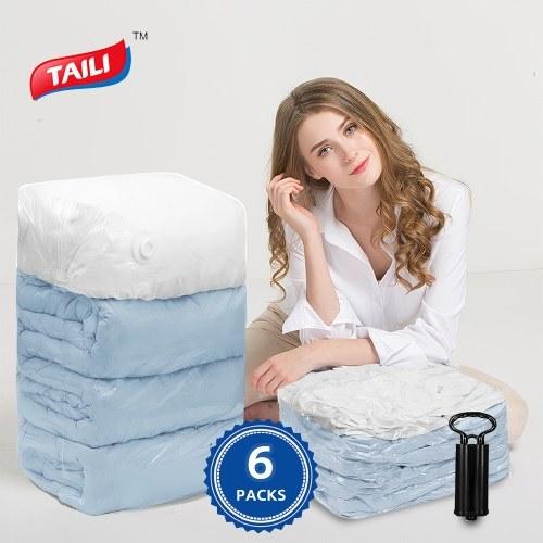 Vacuum Storage Bags 6 Pack Cubic 40*30