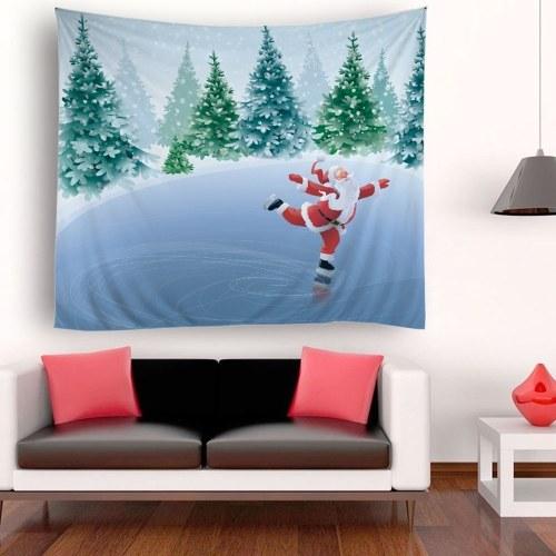 Гобелен гобелен пейзаж декорации гобелен Приморский закат лес гобелен отделка стен фото