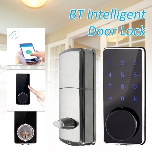 Intelligent Digital Door Lock BT Keyless Touching Password APP Deadbolt Security Door Lock