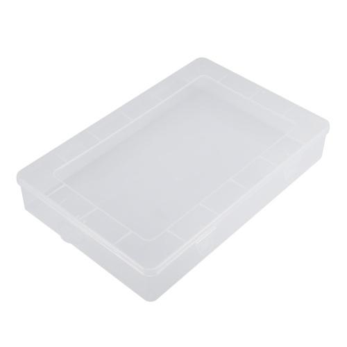 Портативные прямоугольные прозрачные части Lastics Box и ящик для хранения ноутбука iPad с крышкой
