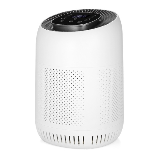 Air Purifier Auto Mode HEPA Filter 3-Stage Filtration Multi Purification Built in Sensors Timer Function Remove Formaldehyde Dust Odor Low Noise for Home Bedroom Hotel Office