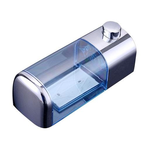 500ml Flüssigseifenspender Wandhalterung Badzubehör Kunststoff Waschmittel Shampoo Spender Küchenseifenflasche