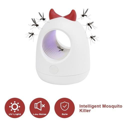Mosquito Killer Lamp Bug Zapper Led UV Light USB Trampa de mosquitos de interior Lámpara de mosquito de succión libre de químicos