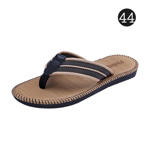 Sandalias para hombres Zapatillas con chanclas Zapatillas antideslizantes EVA Chanclas Zapatos planos con una cómoda plantilla para exteriores al aire libre en casa Playa Mar