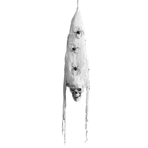 Décoration suspendue fantôme d'Halloween à commande vocale de 2,78 pieds