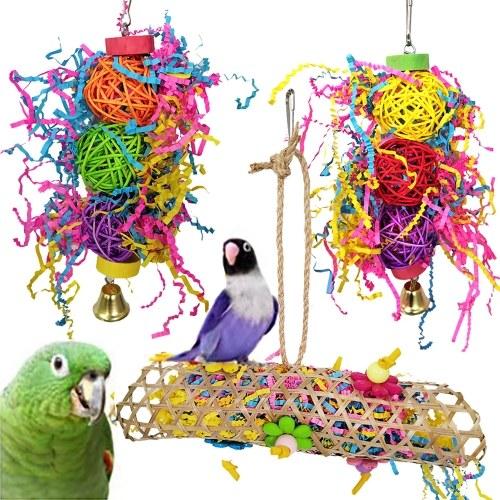 3pcs Bird Shredding Toys
