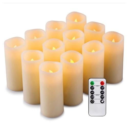 Flammenloses LED-Kerzenlicht Hell