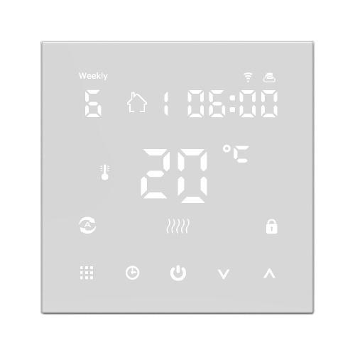 Controlador de temperatura inteligente con pantalla digital LCD HY607