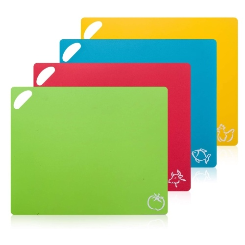 4Pcs Flexible Cutting Board