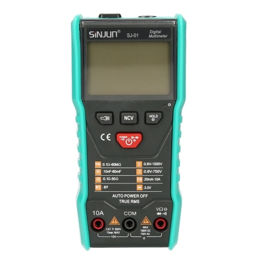 SJ-01 Digital Multimeter Intelligent Automatic Scan Tester