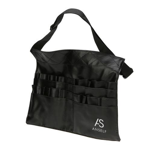 Abody PVC Professional Cosmetic Makeup Brush Apron Bag Artist Belt Strap Holder