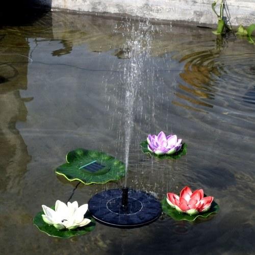 Насос для водяной панели с солнечной батареей