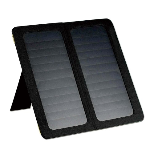 Outdoor Travel Portable Solar Charger Mobile Power Supply Pad Wild Adventure Recharger 13W Solar Energy Foldable Stand Panel