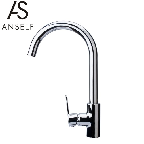 Tomtop coupon: Anself FN105726 Modern Style Single Handle Kitchen Sink Faucet Excellent Water Faucet High Quality All-copper Sink Tap