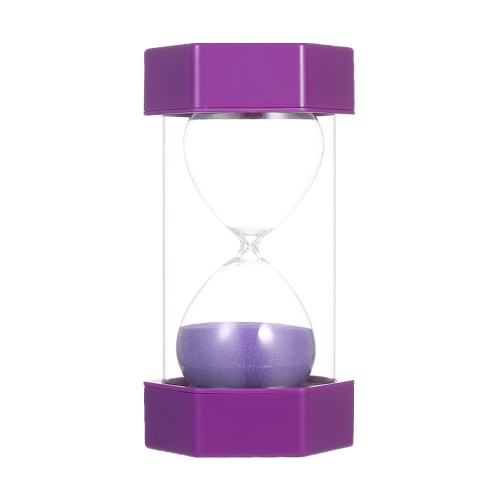 15 Minutes Hourglass Sandglass Sand Timer Decoration for Kitchen Office Game Timer Christmas Birthday Gift