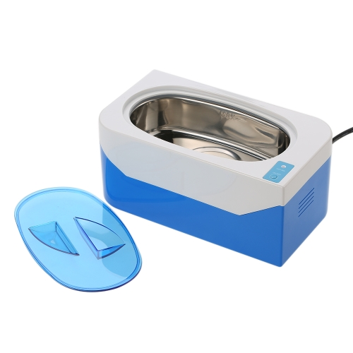 35W Mini Ultrasonic Cleaner Bath for Cleanning Jewelry Watch Glasses Circuit Board 400ml Ultrasonic Bath VGT-900