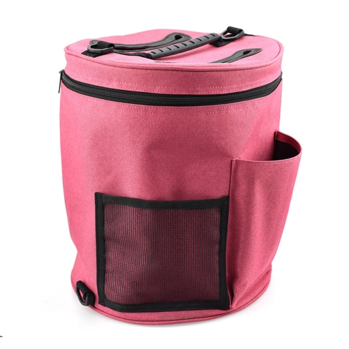 Practical Knitting Storage Bag Portable Crochet Hooks Thread Yarn Case Zipper Knitting Tools Organizer DIY Fabric Crafts Sewing Kit Bags