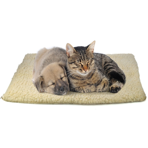 No Electric Self Heating Blanket for Dog Cat Pets Washable Bed in Winter