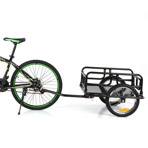 iKayaa Folding Bike Cargo Trailer Hand Wagon Bicycle