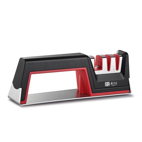 GRINDER Fine/Coarse Combination Three Stages Knife Sharpener Fine and Coarse Knife Sharpening Tool